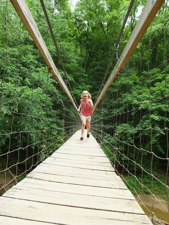 Sheltowee Swinging Bridge, Red River Gorge, KY