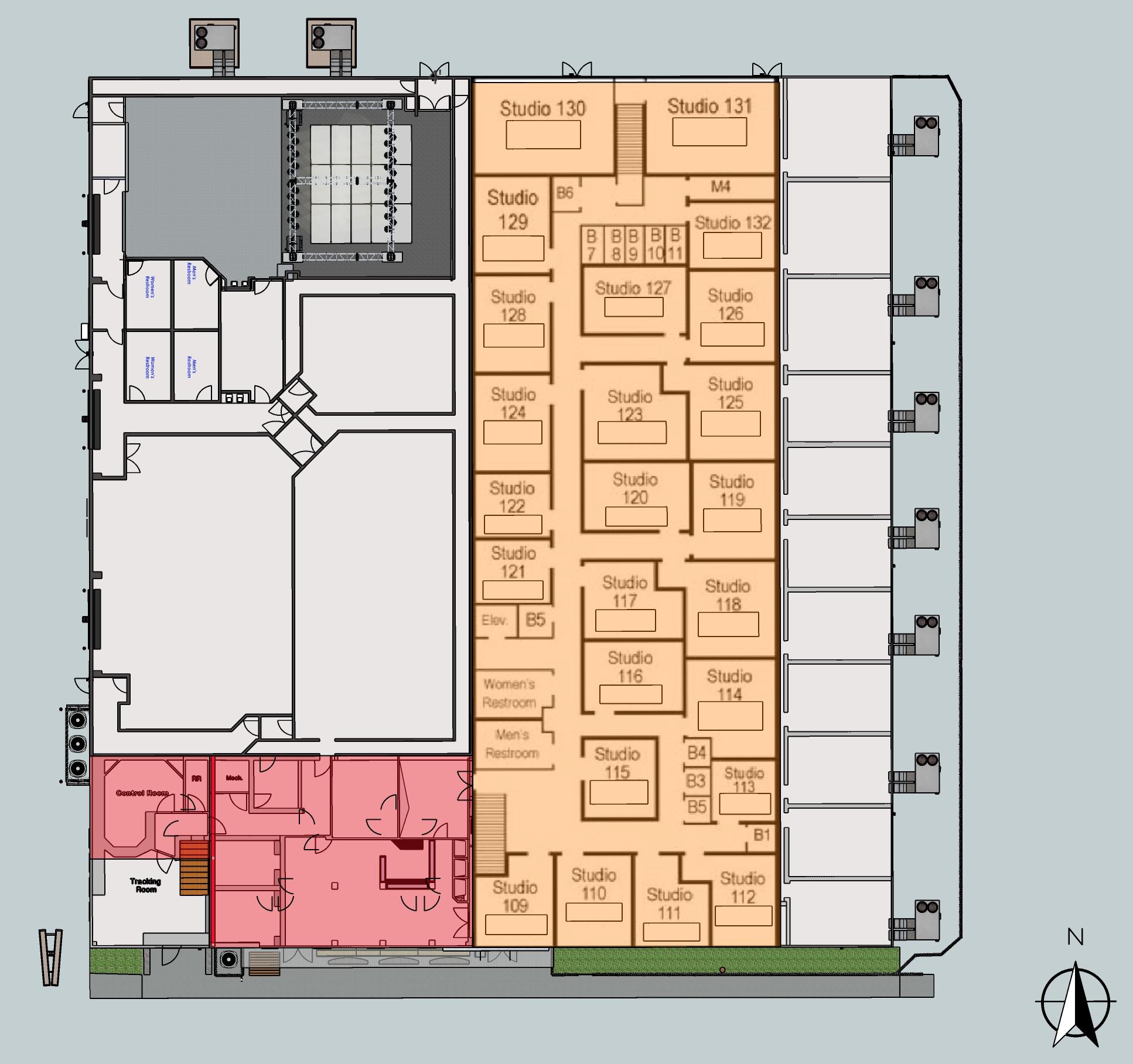 Music Lab 2nd floor