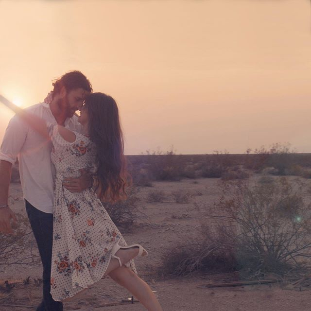 Nothing to see here.. just some desert dancin 😍🎥 Our favorite scene from the Dance for Me music video dropping July 5th!