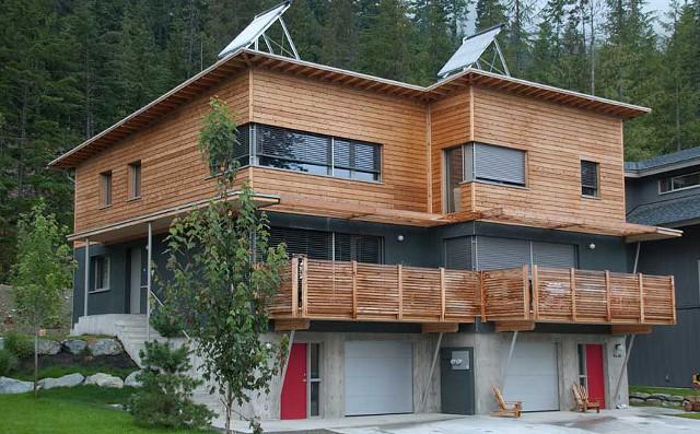 Passive House in Whistler