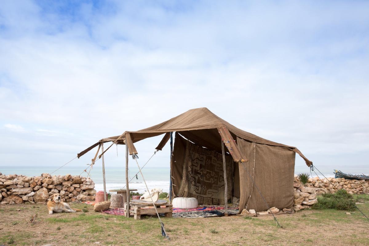 Bedouin Campsite