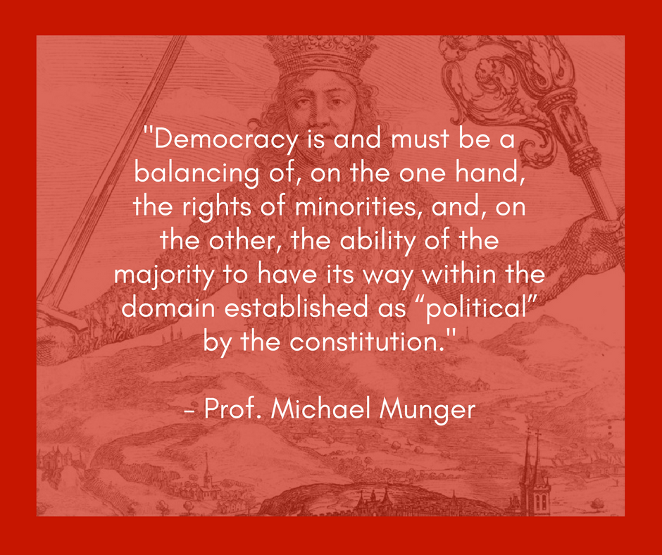 Read Professor Munger's full review of *Democracy in Chains,* published by the Independent Institute.