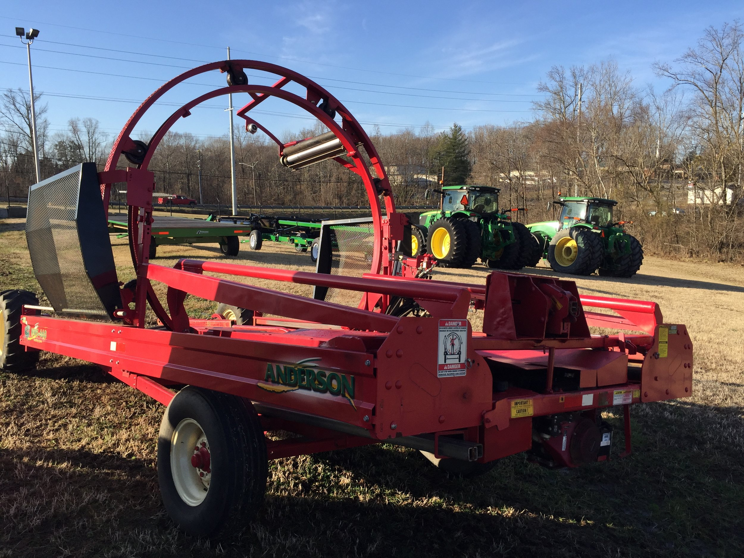 Add USED Equipment — Red Barn and Associates