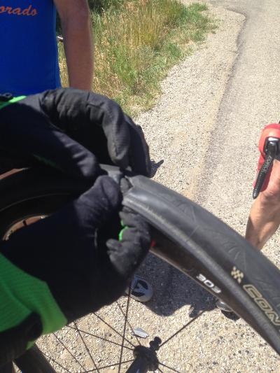 The Culprit - Hole in Tyre