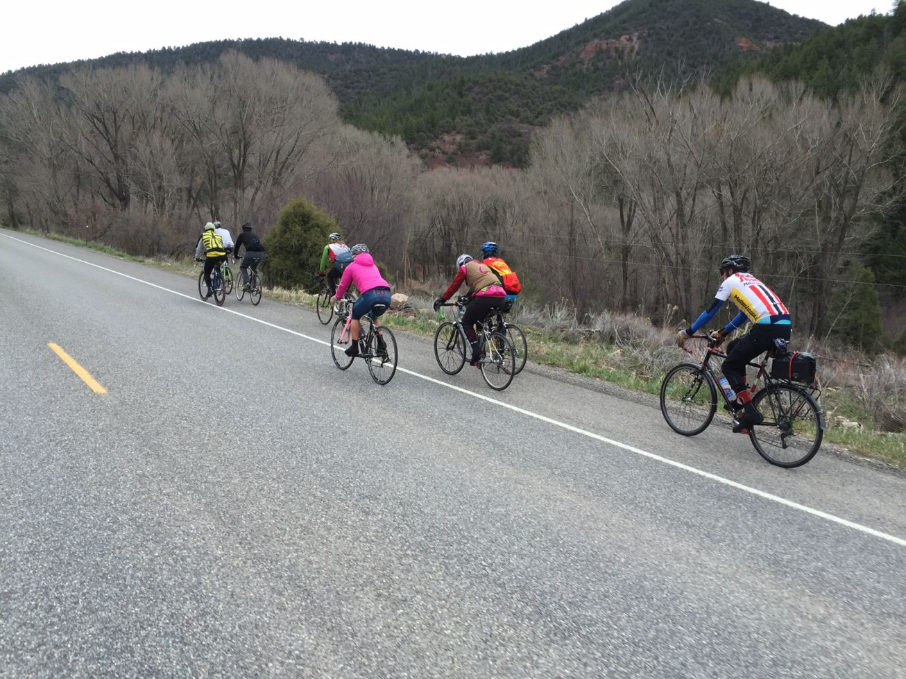 the peloton in fluid action