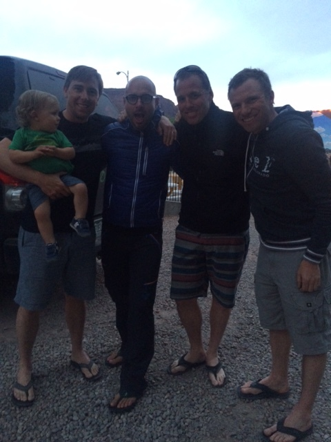 Noah, Beckett, Narcis, Oz and Chris