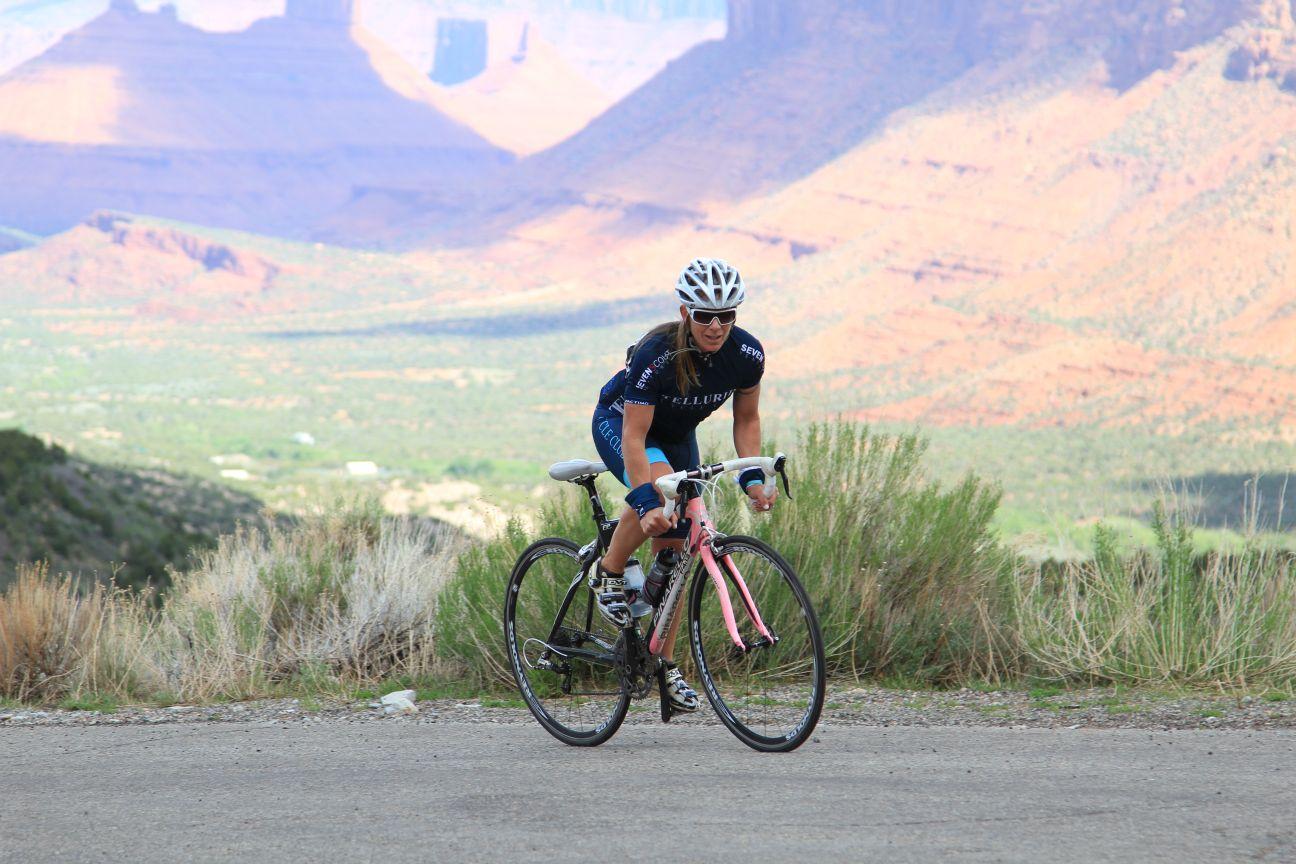 Becca climbing on the drops. Marco Pantani RIP!           timguzmanphotography