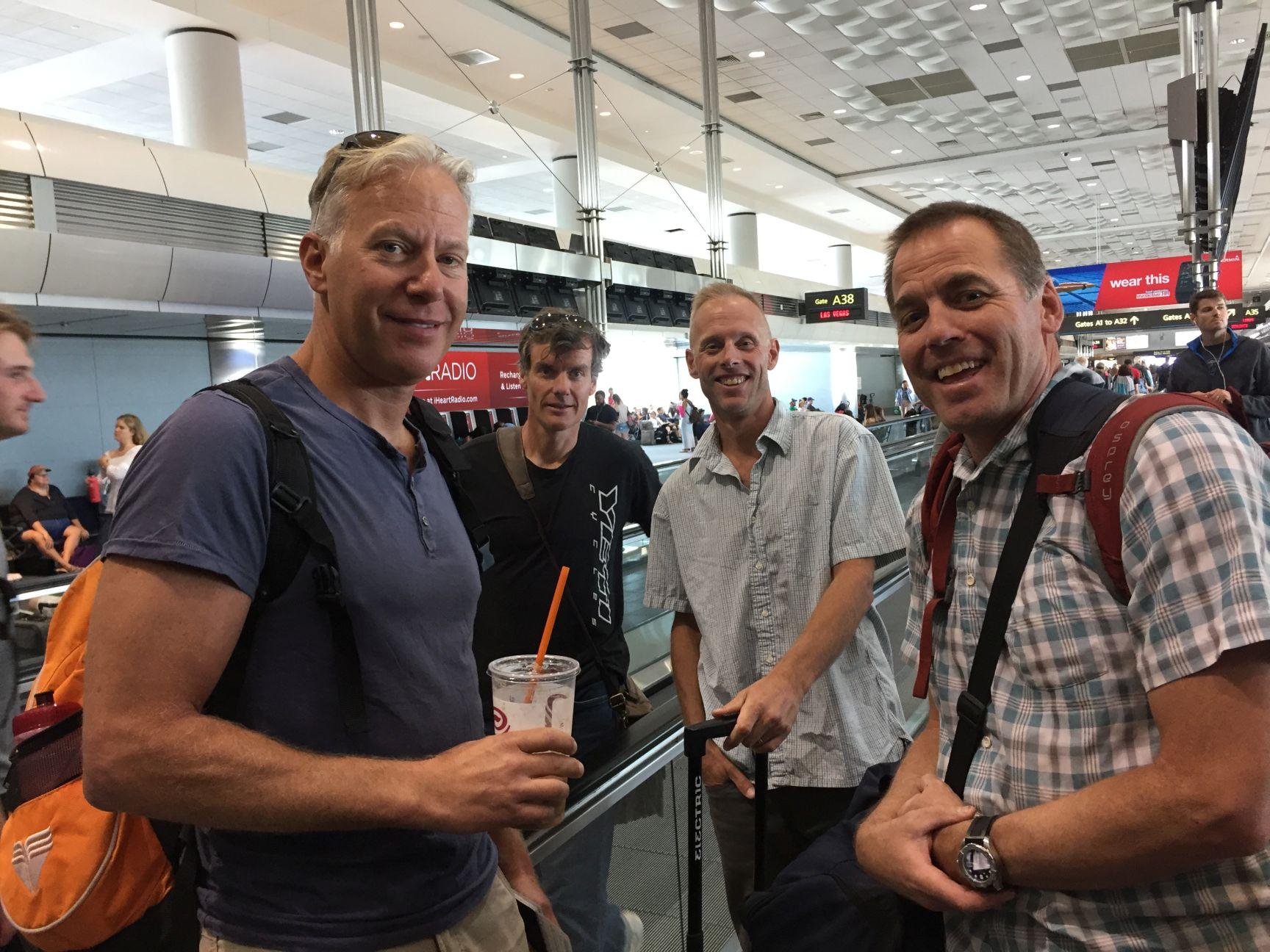 Joel, Rick, Richard and Oz