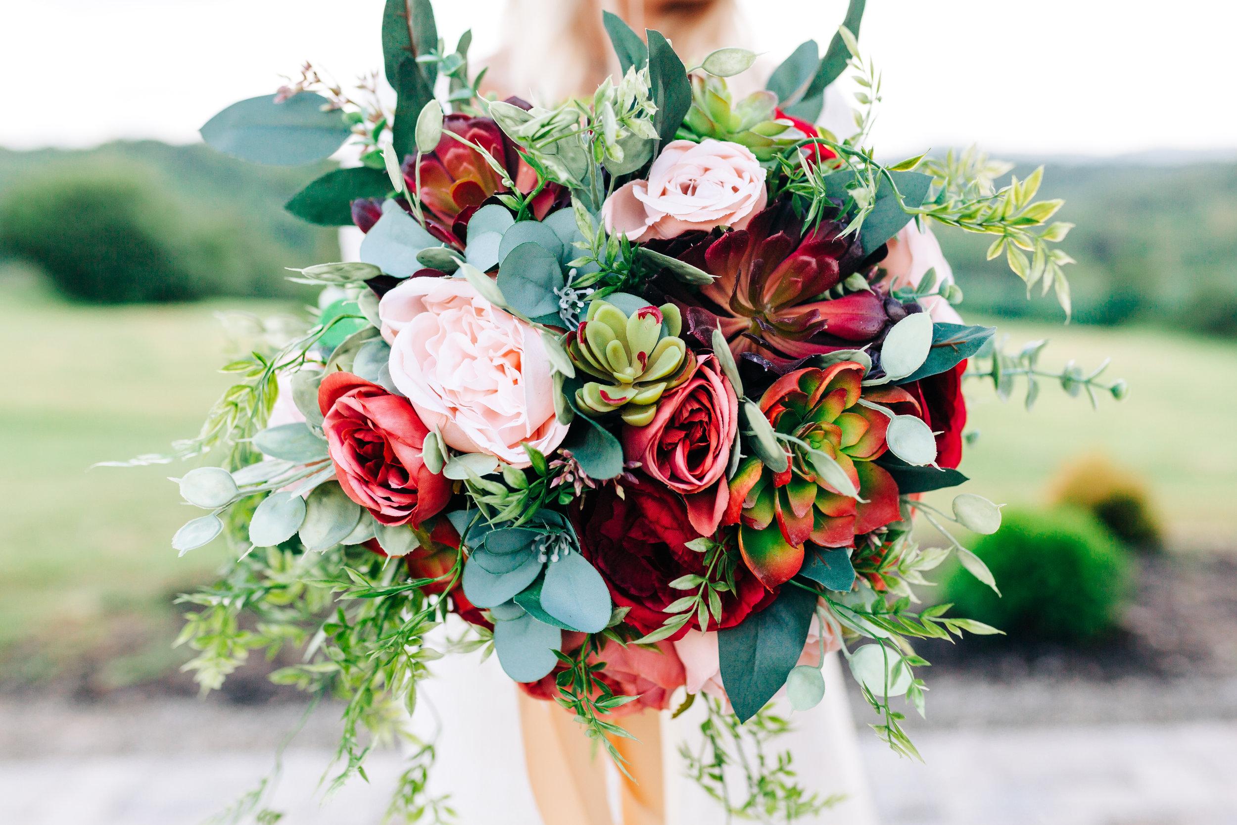 fake flower bouquet .jpg