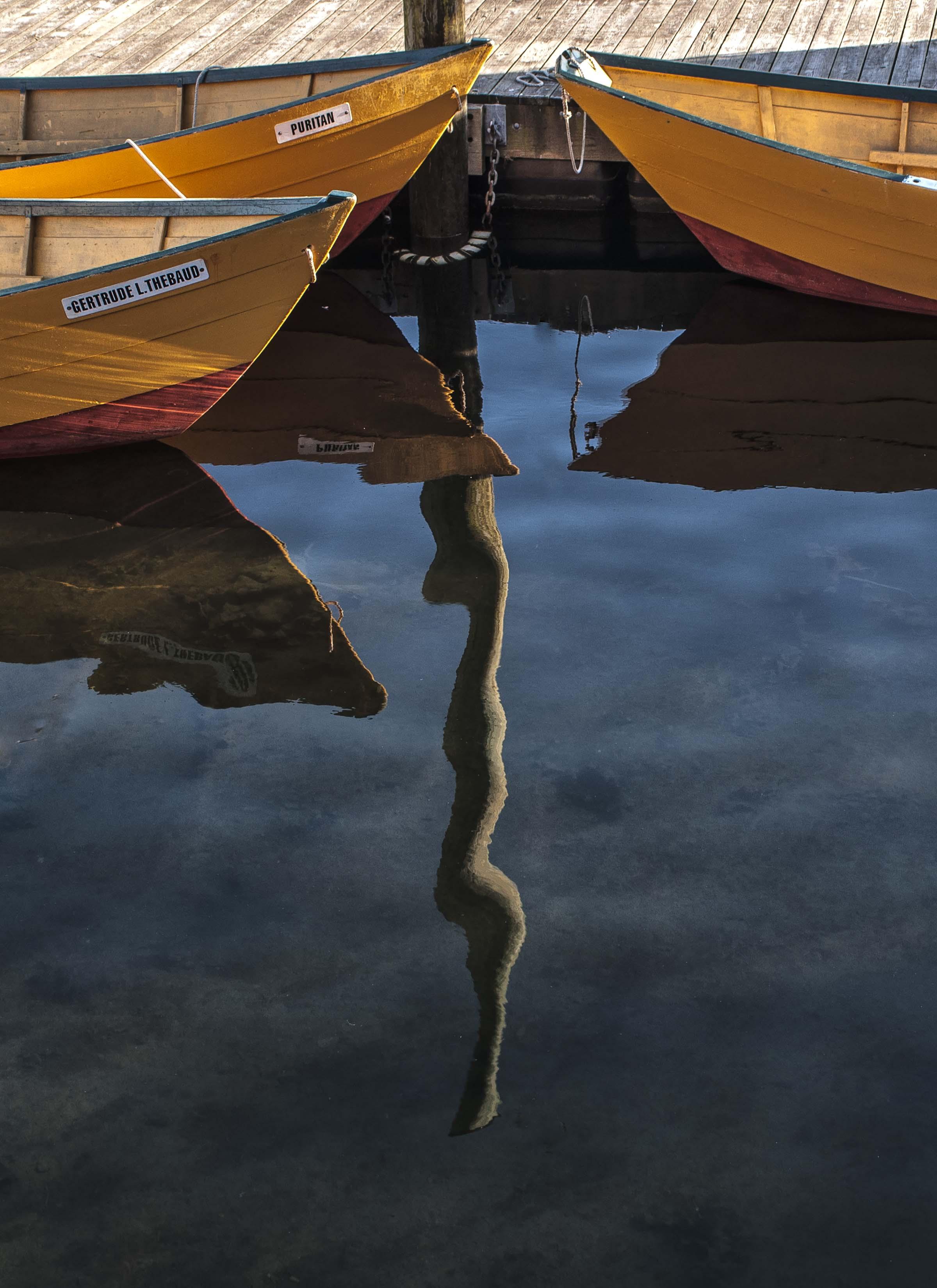 Rippling reflection