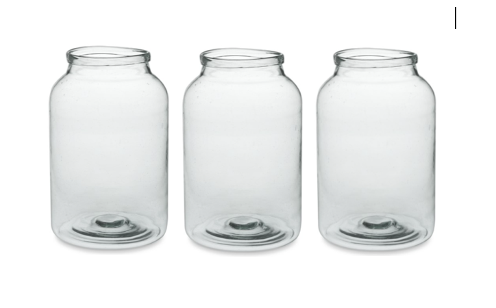 GIANT Vintage Jars $25 (5)