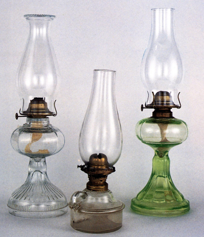 vintage oil lanterns $8