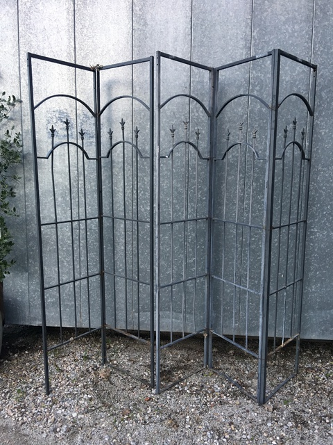 vintage metal screen