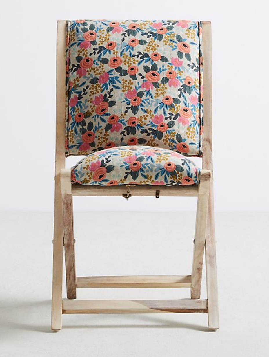 Floral Multi Folding Chair $55 (2)