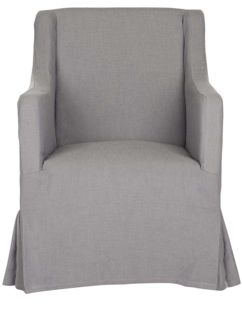 Quinn Slipcovered Arm chair (2) $85