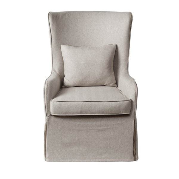 Slipcovered Wingback (2) $85