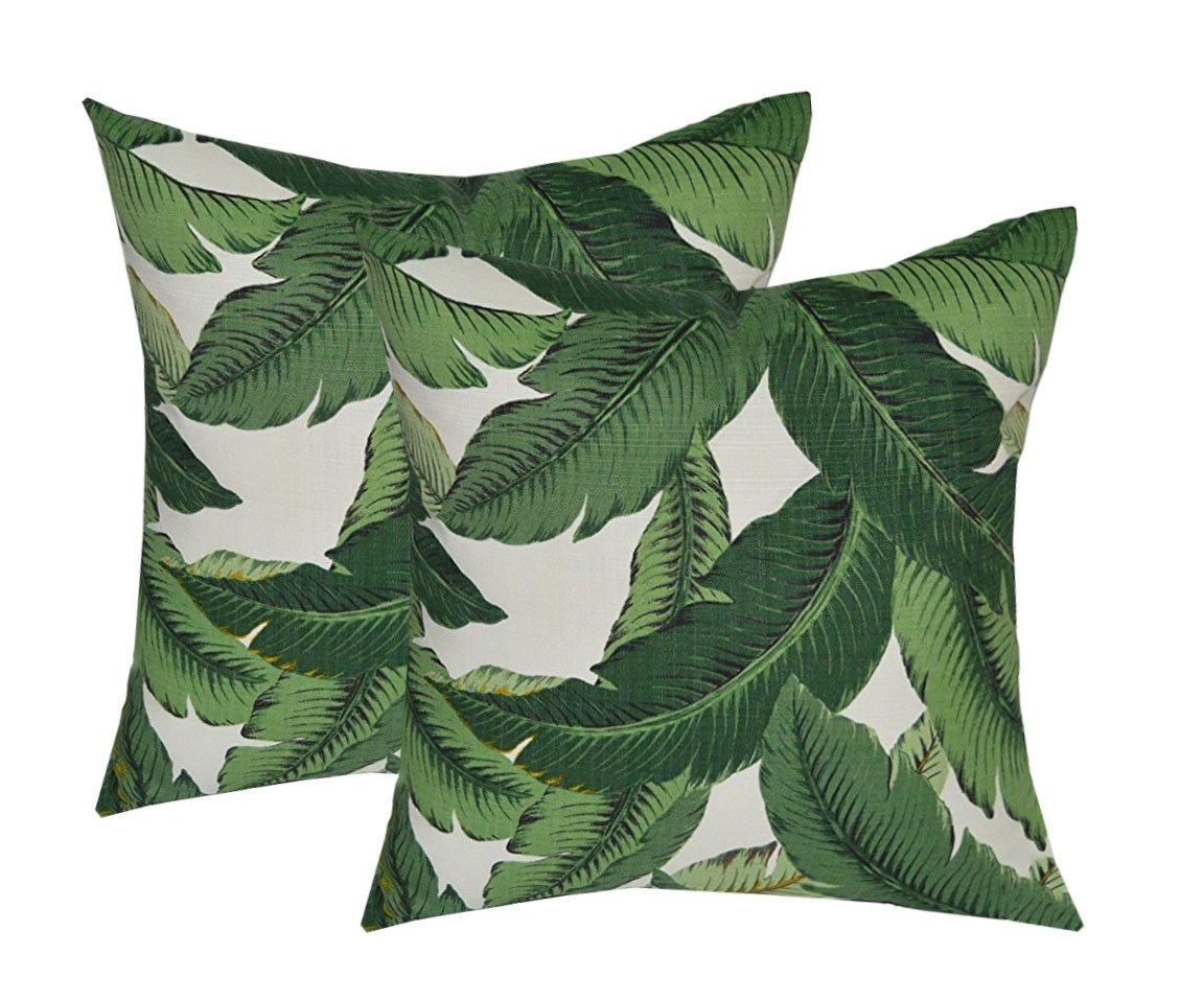 Palm Leaf Pillows (6) $5