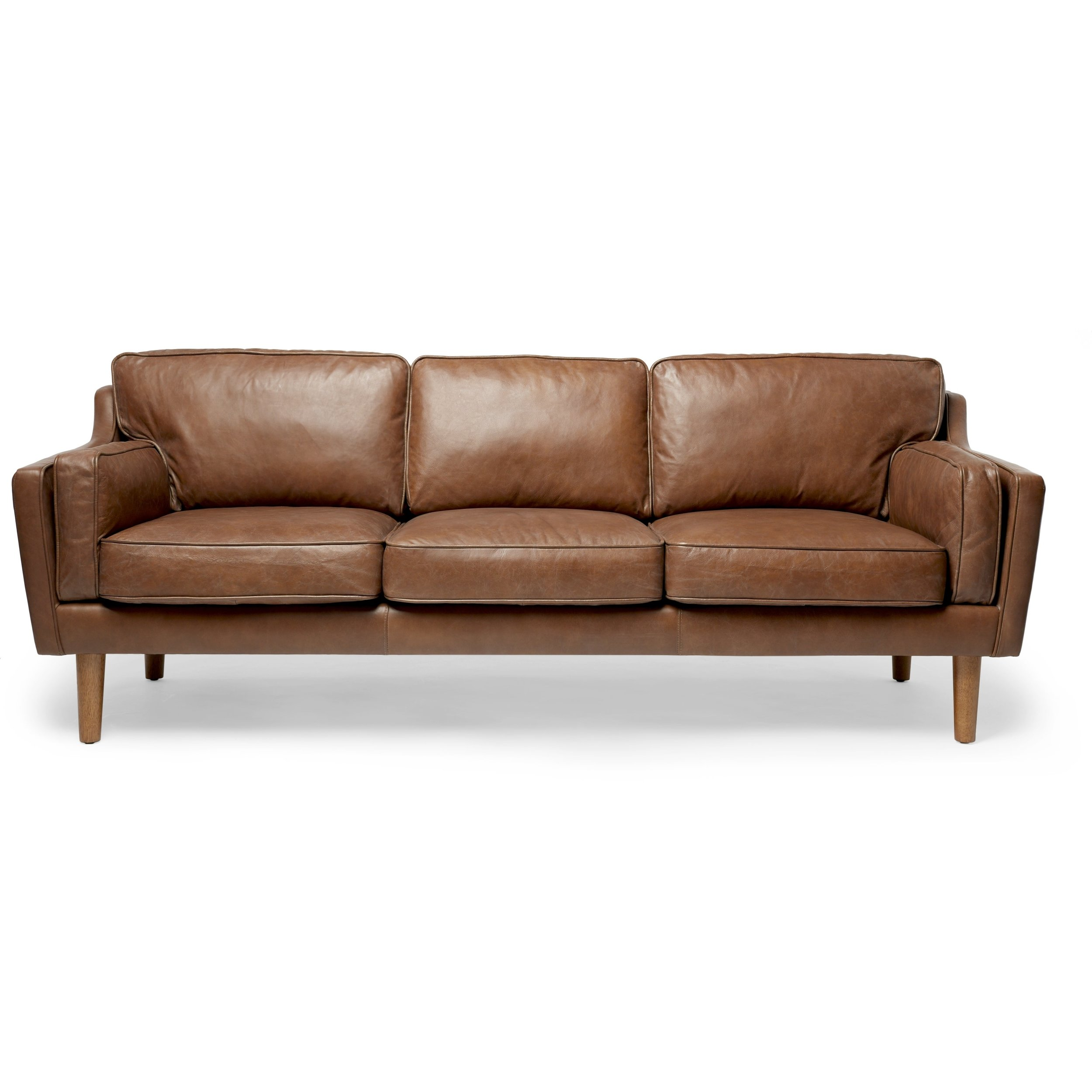 Gideon Leather Sofa $325