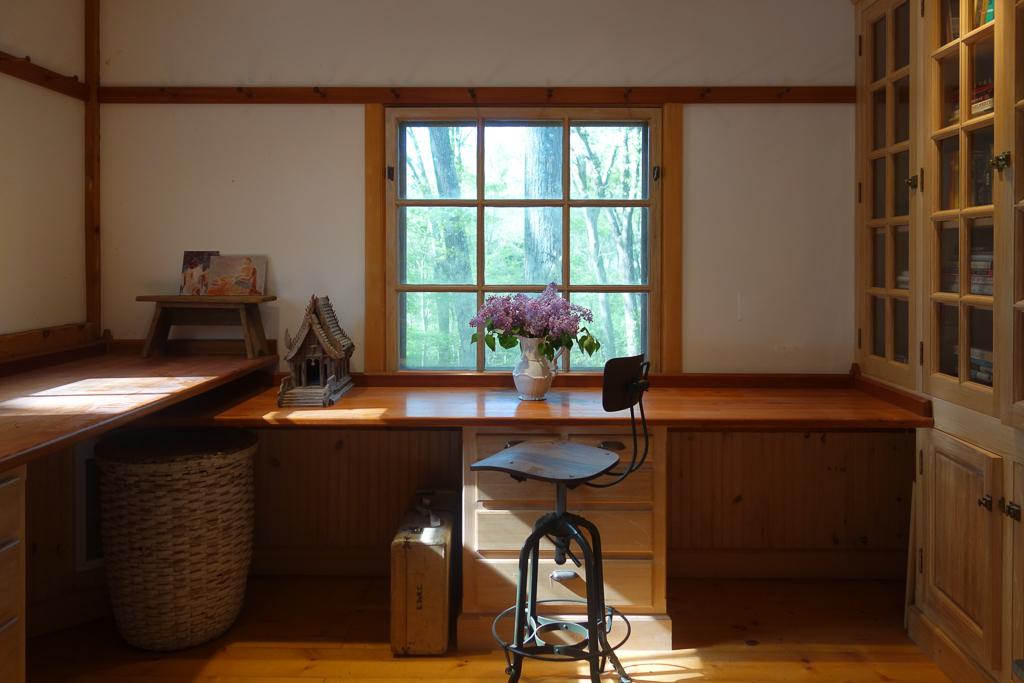 simple office studio space