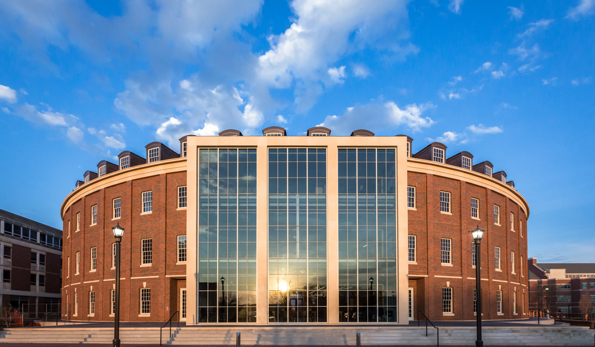 Newly developed Spears School of Business, Oklahoma State University