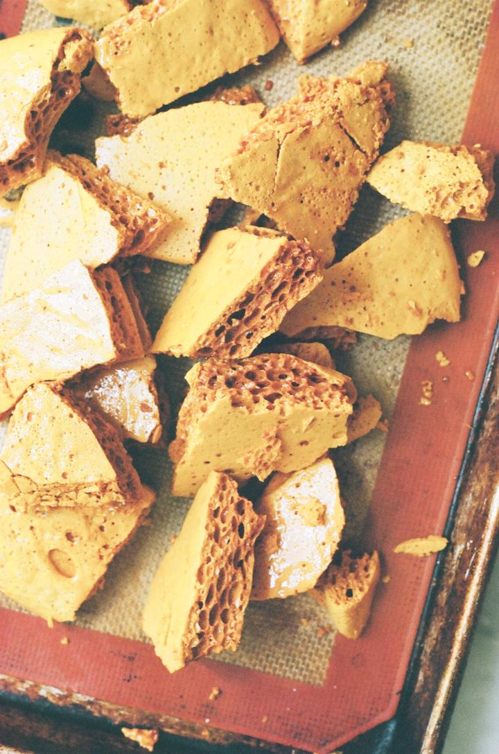 honeycomb candy (yossy arefi)