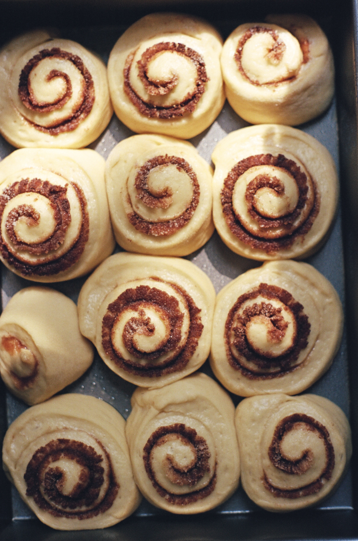 challah cinnamon rolls | apt 2b baking co