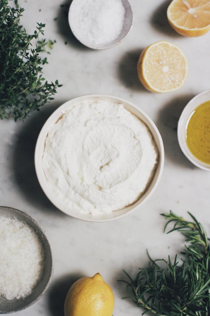 herbed baked ricotta | apt 2b baking co