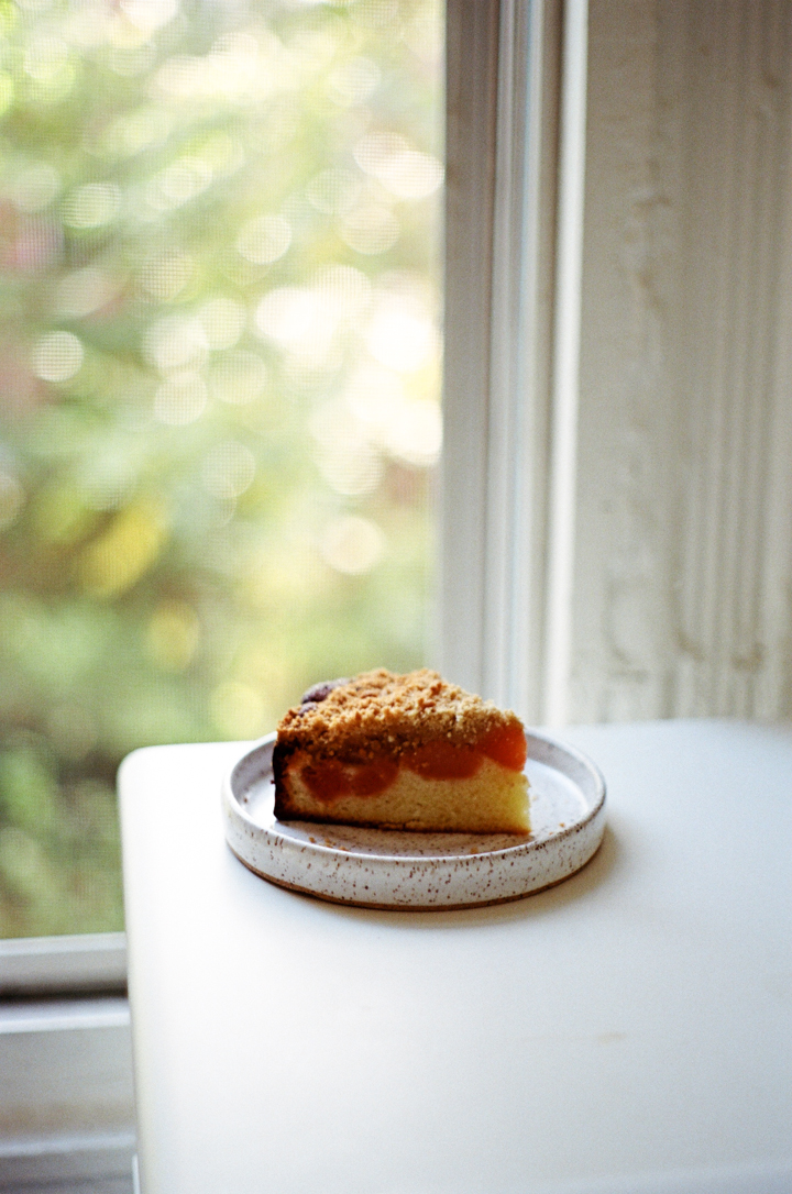 quince crumb cake | apt 2b baking co