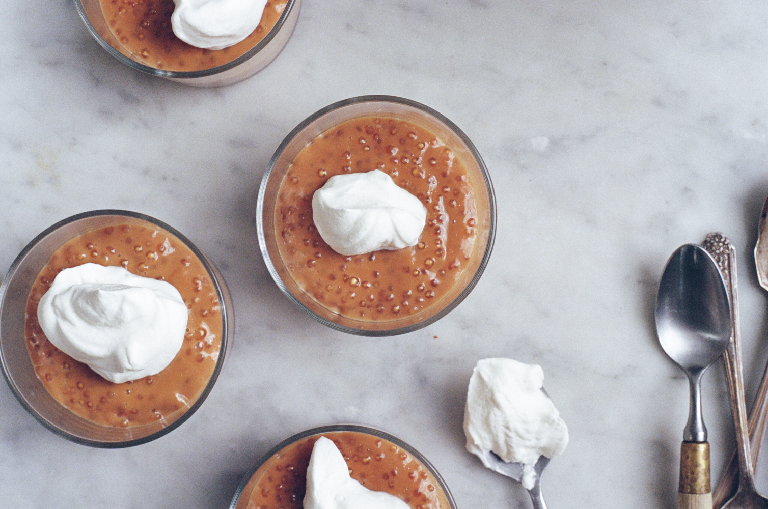caramel tapioca pudding | apt 2b baking co