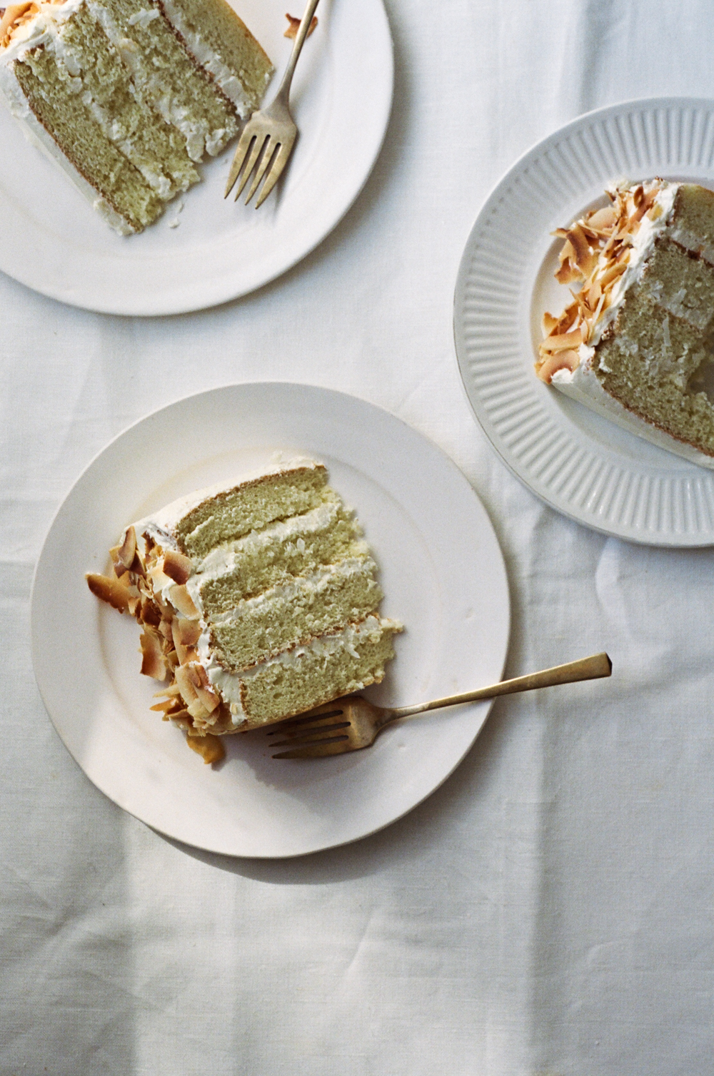 light and fluffy coconut cake | apt. 2b baking co.