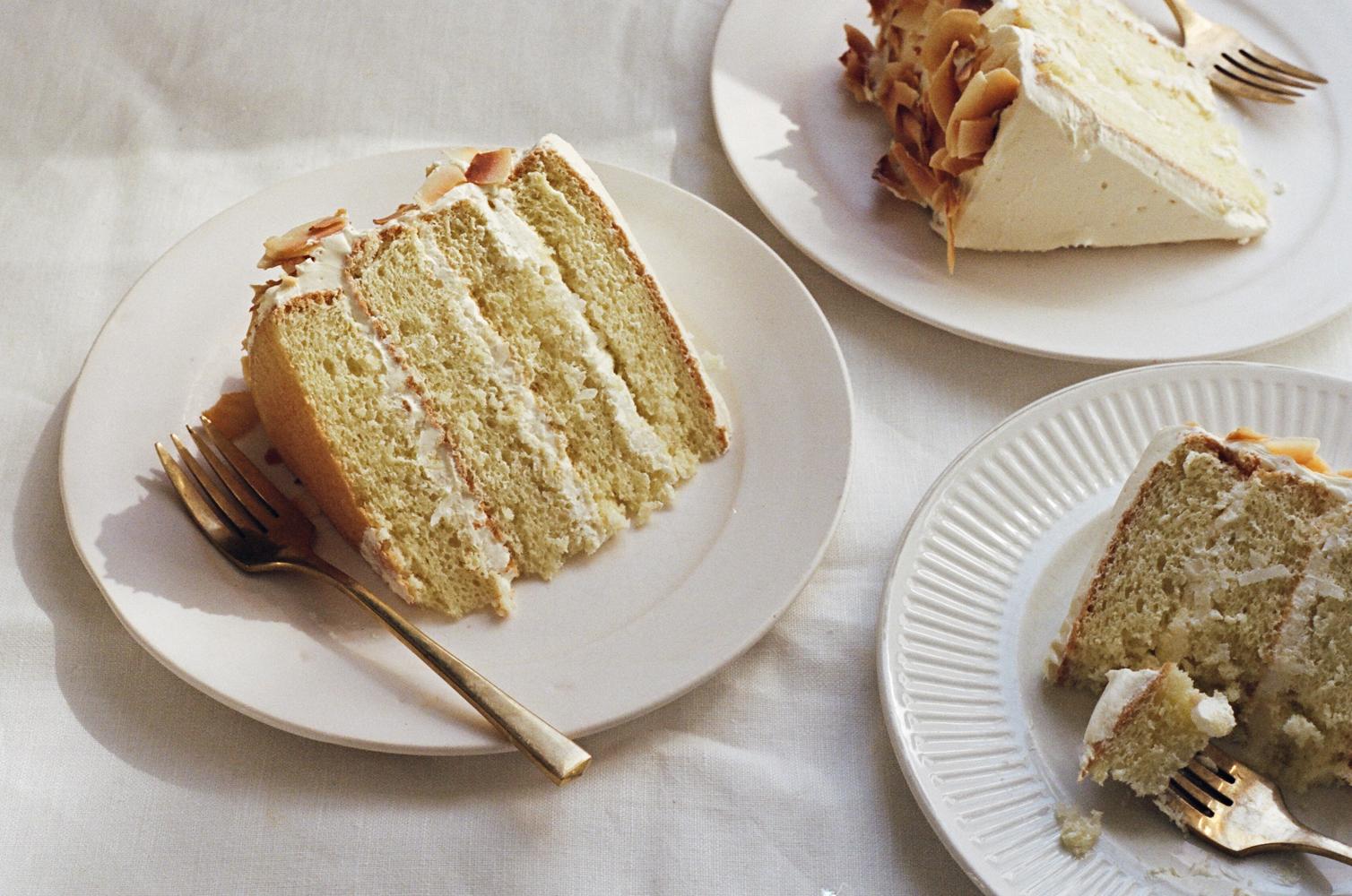 light and fluffy coconut cake   apt. 2b baking co.