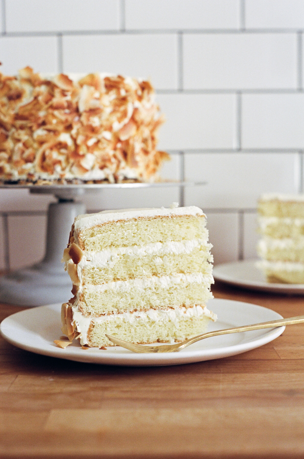 light and fluffy coconut cake | apt 2b baking co.