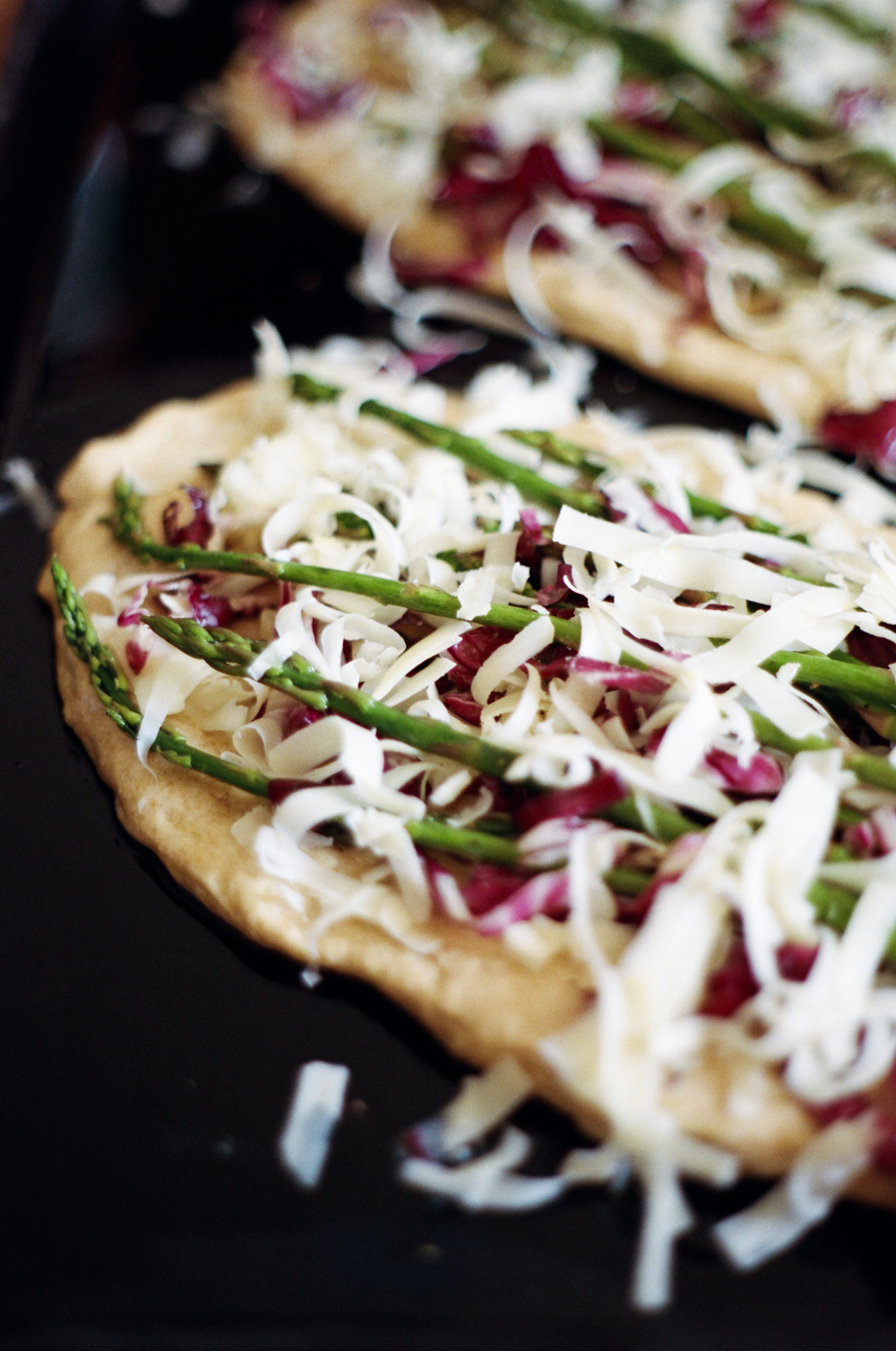 whole wheat flatbreads with spring vegetables | apt 2b baking co