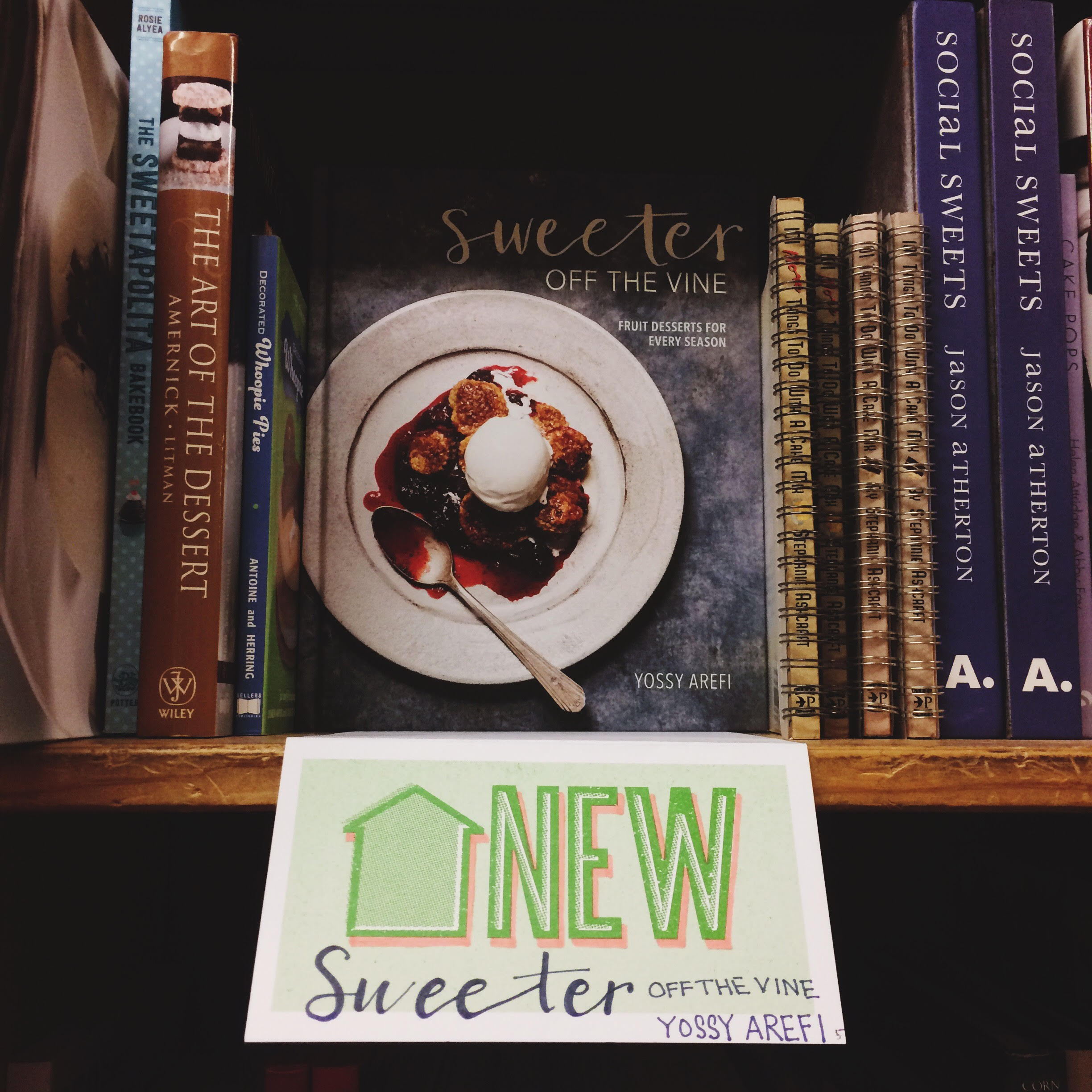 sweeter off the vine west coast book tour | apt 2b baking co