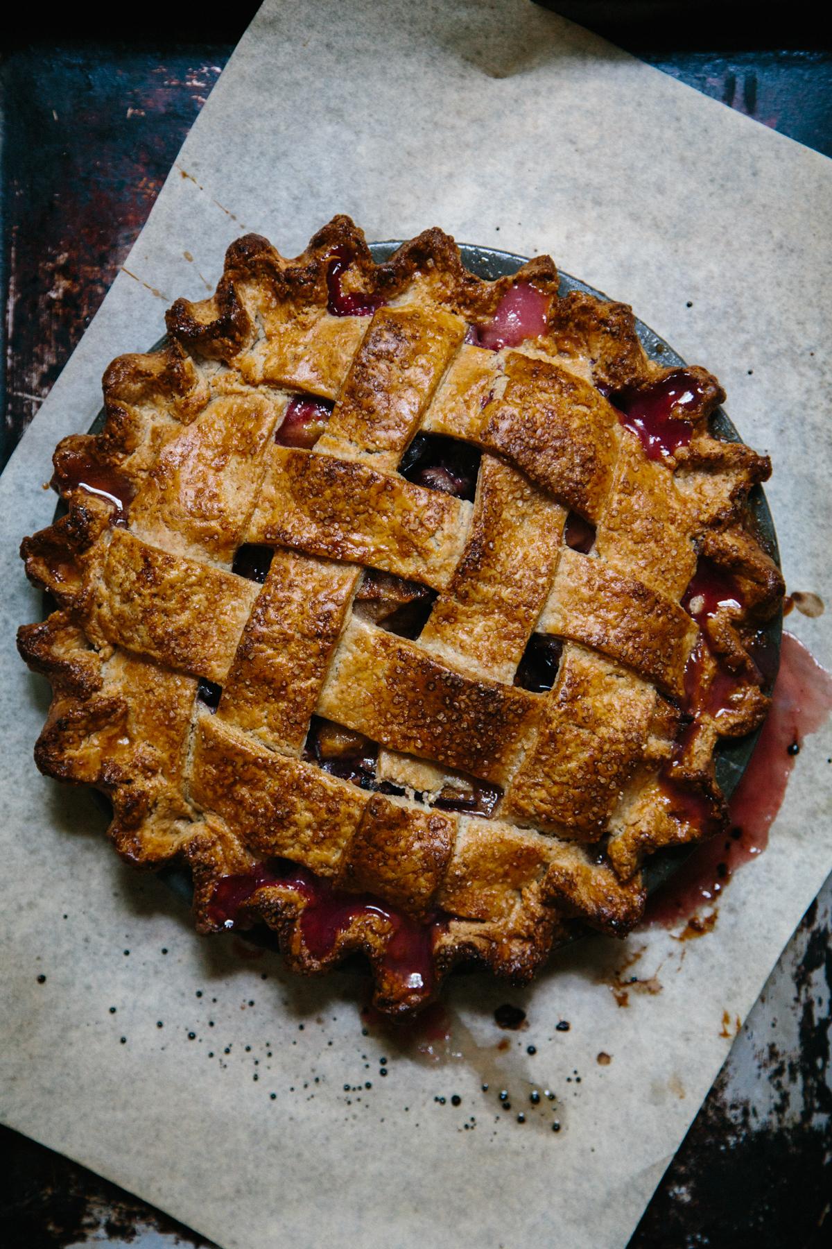 italian plum pie | apt 2b baking co
