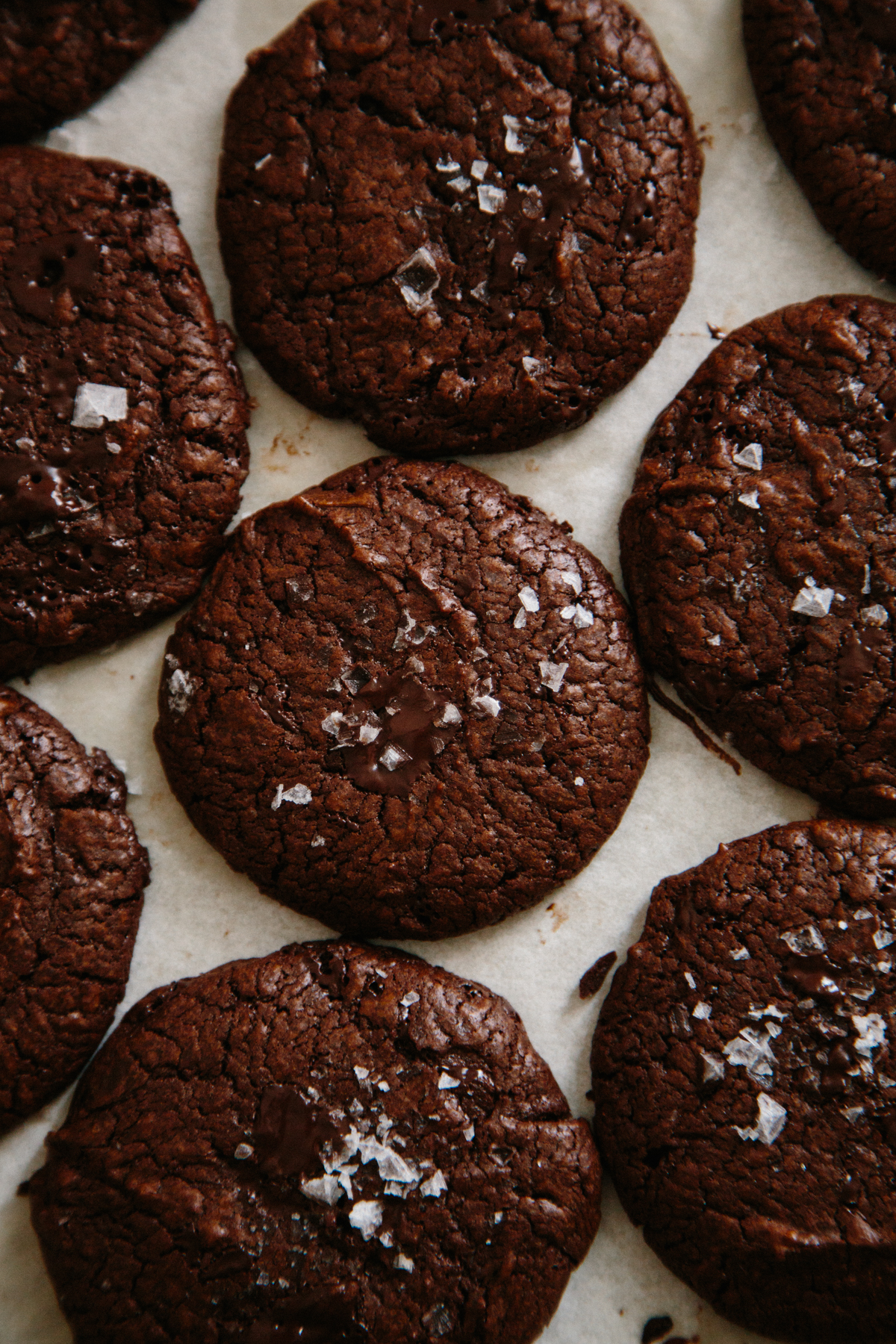 buckwheat double chocolate cookies | apt 2b baking co