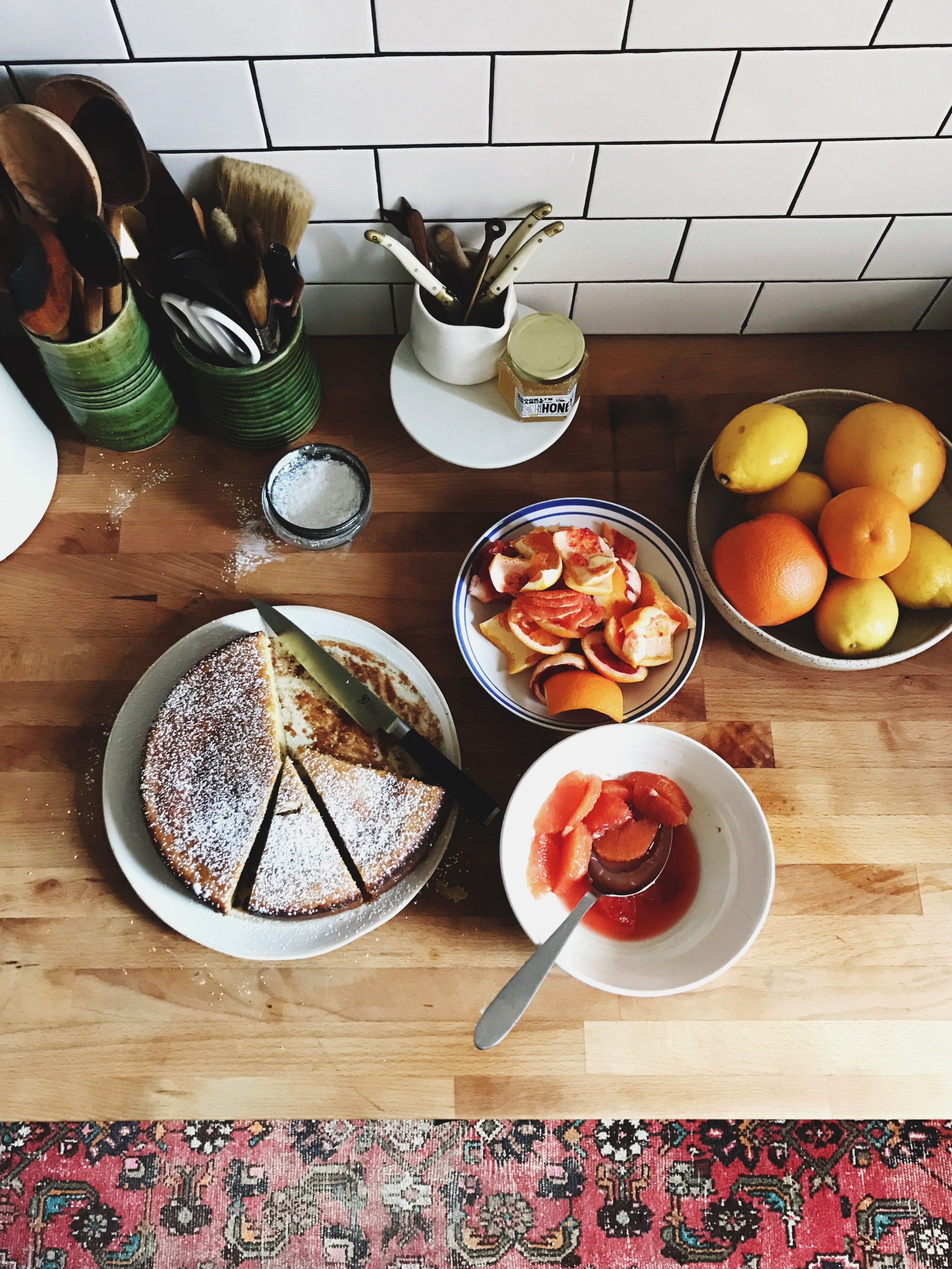rosemary olive oil cake | apt 2b baking co