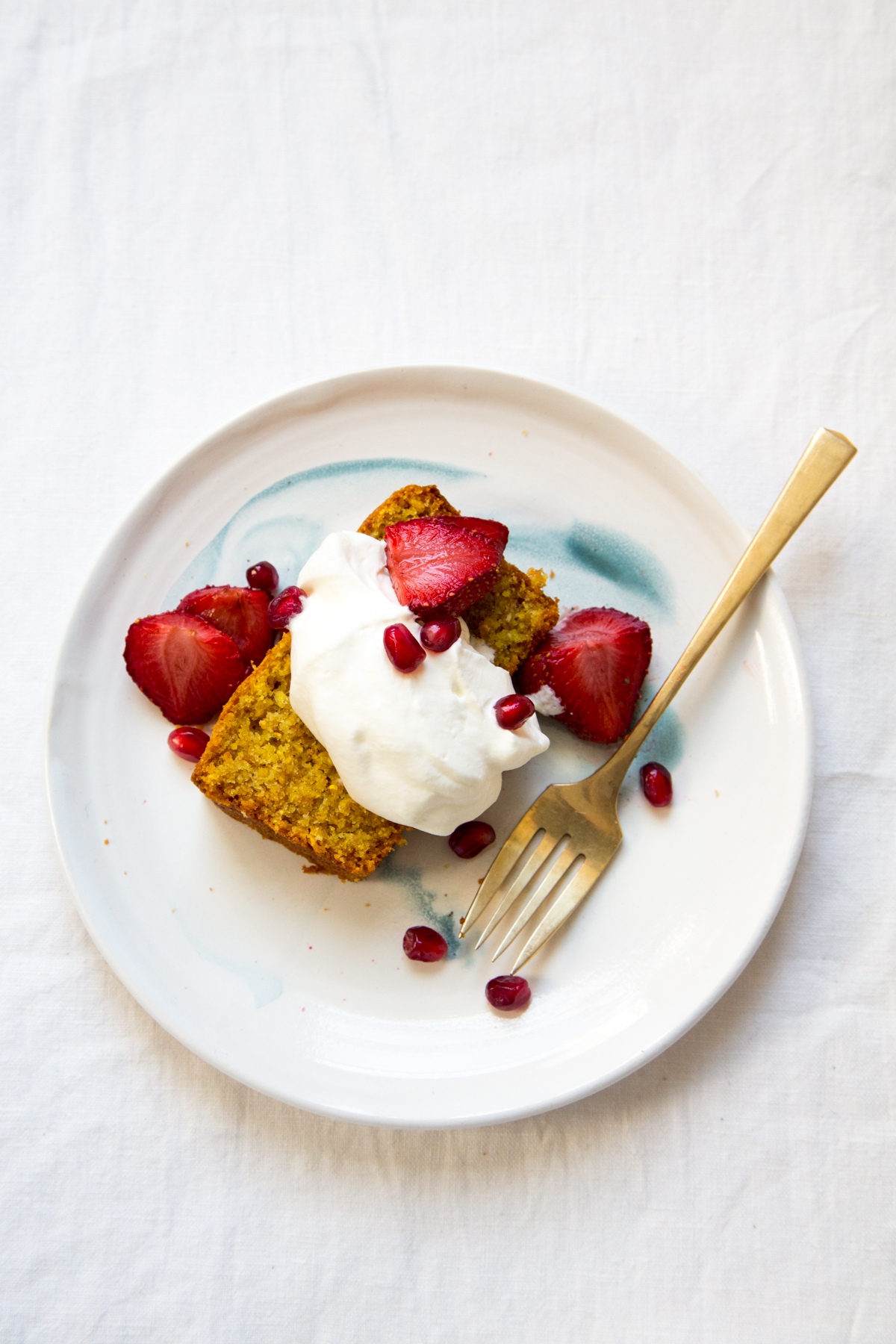 vanilla cornmeal cake - first mess cookbook | apt 2b baking co