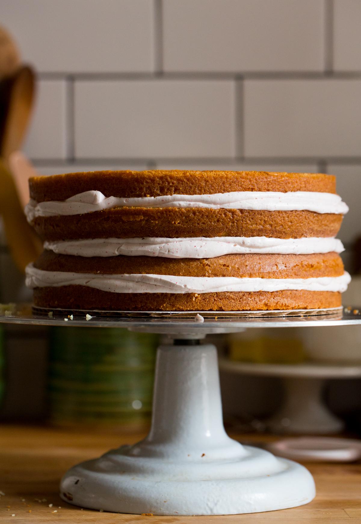 meyer lemon and raspberry cake   apt 2b baking co