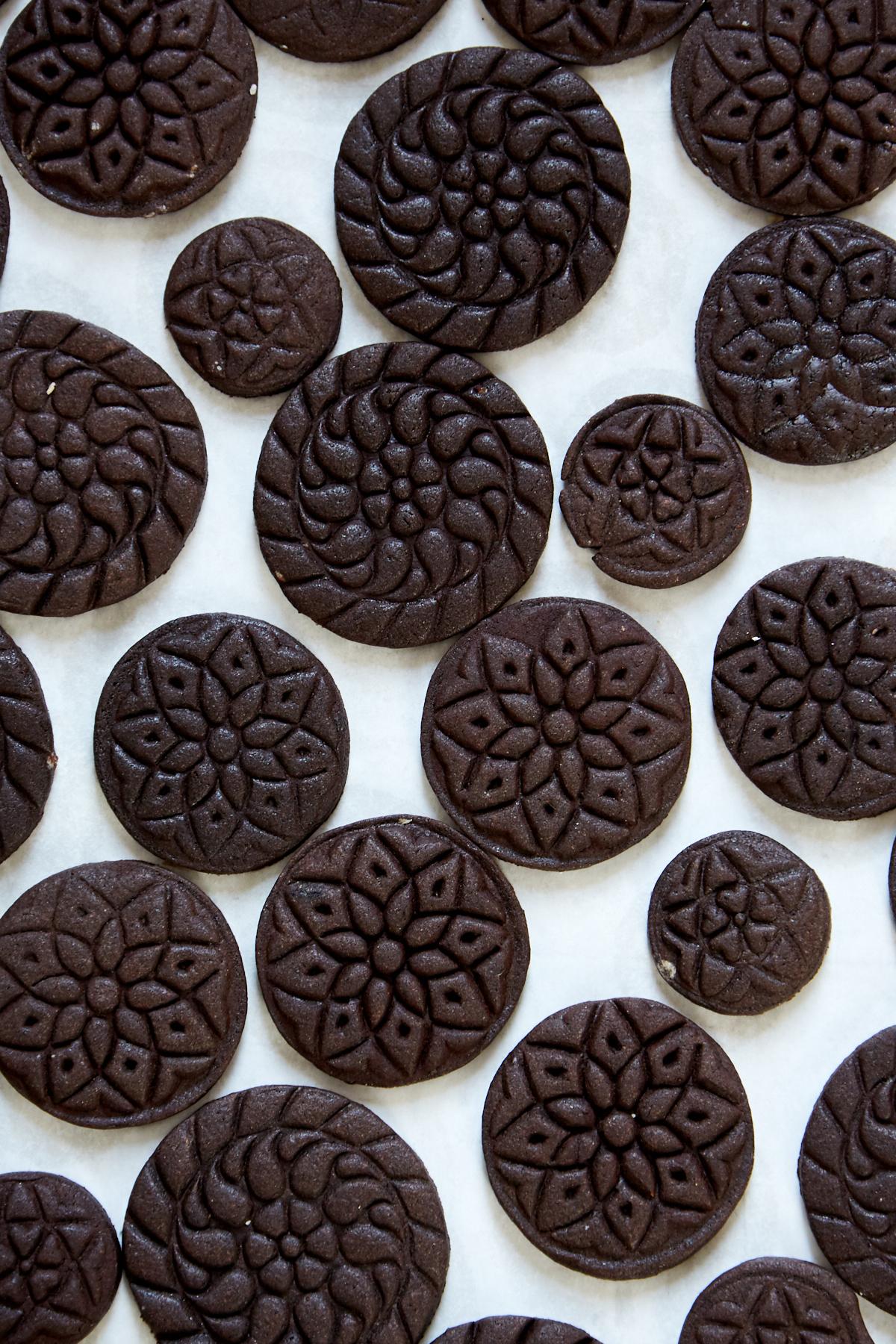 Stamped Brownie Cookies | apt 2b baking co