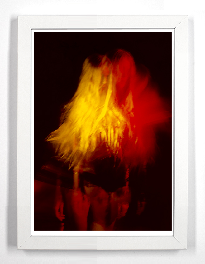"Lily 36.5"" x 49.5"" Archival Pigment Print From Fujifilm FP-100c"