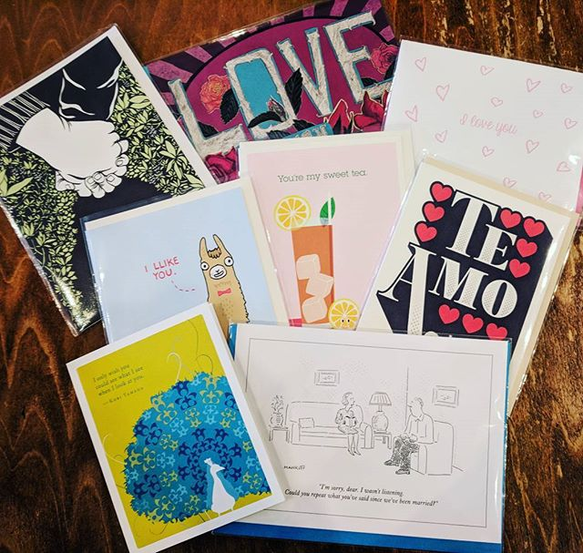 Valentine's day is just around the corner, we have cards for every type of relationship from the long-wedded duo to your palentine or galentine. Come on in and check them out! • • • #bookstores #bookstore #bookstagram #card #cards #valentinesday #valentines #valentine #palentine #galentine #art #love #heart #hearts #newyorker #noteworthy #teamo