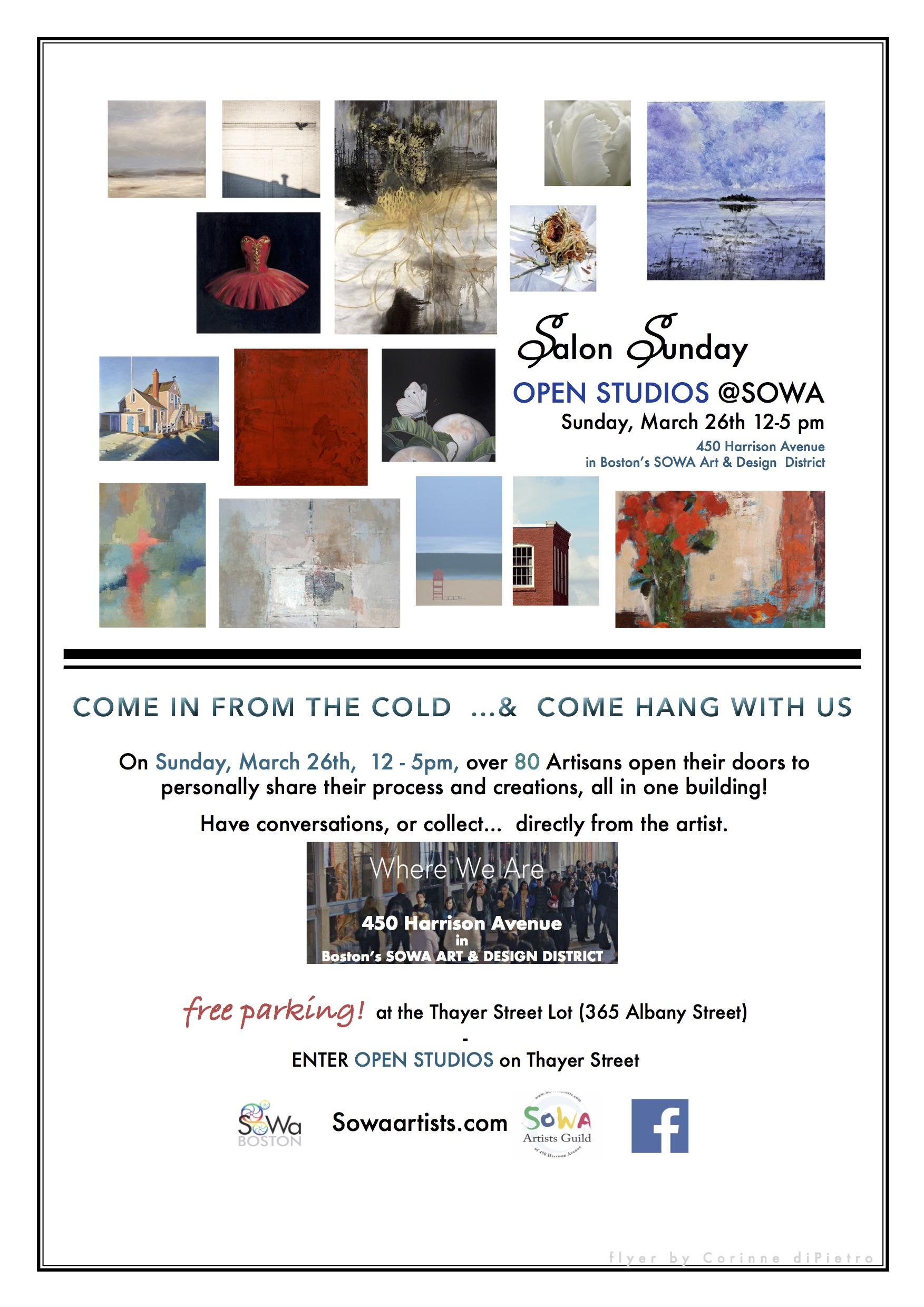 Salon Sunday Open Studios
