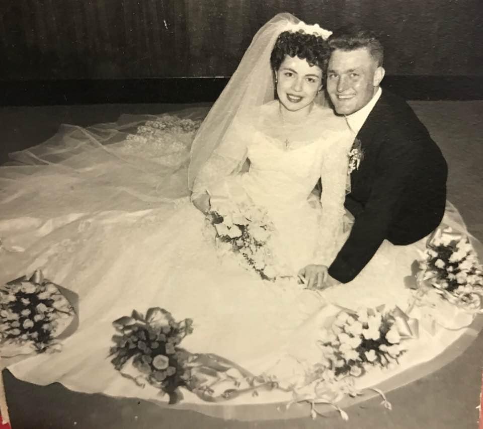 My parent's wedding in 1953