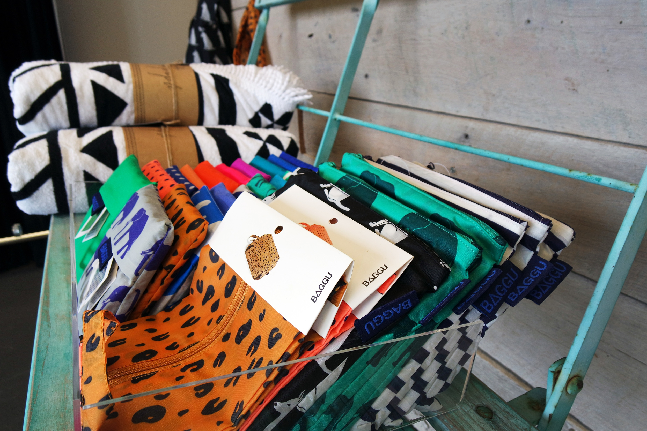 Baggu makes the perfect back to school bags.From pencil pouches to collapsible &reusable totes, we've got you covered!