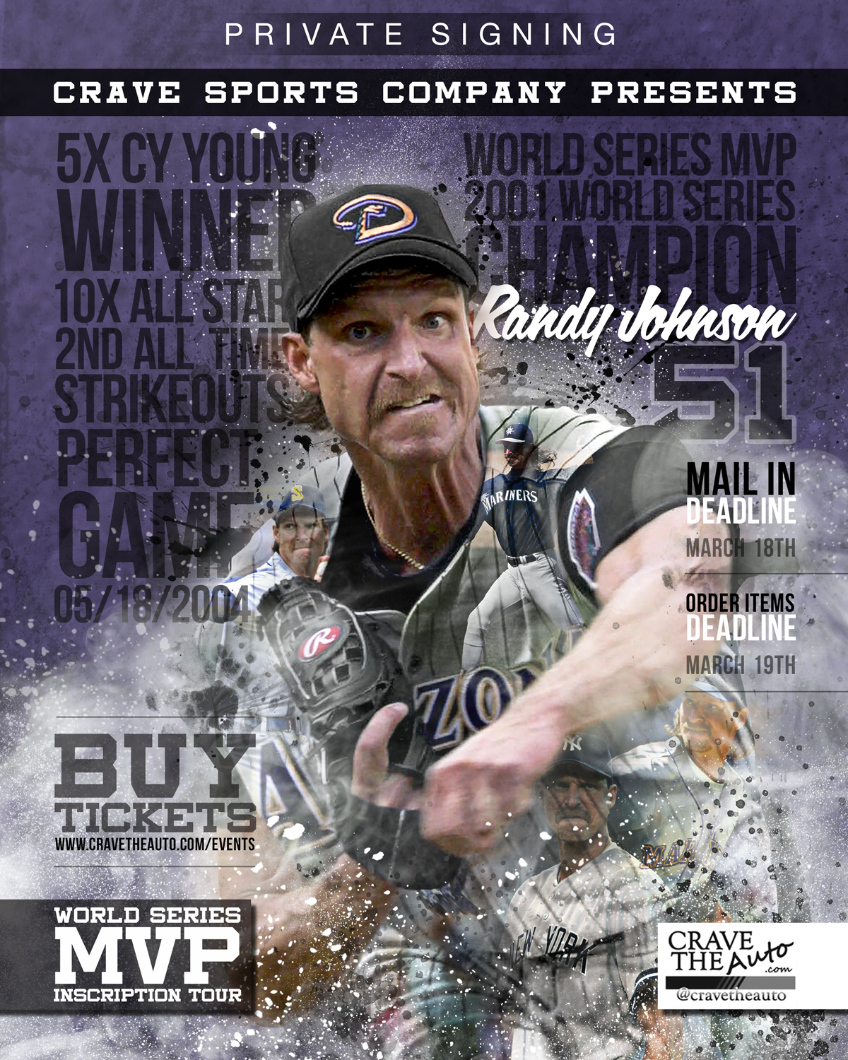 Previous Randy Johnson Poster