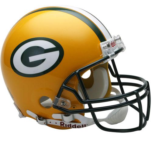 Packers Helmet (Mini, Replica, Authentic)