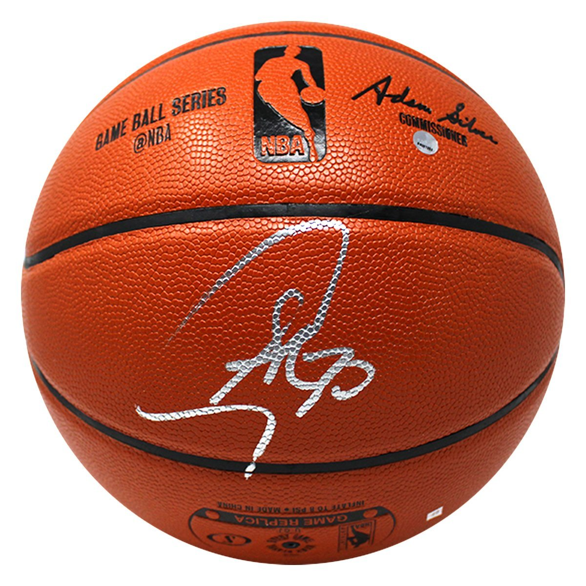 Replica Spalding Inside/Outside Basketball (autographs will vary)