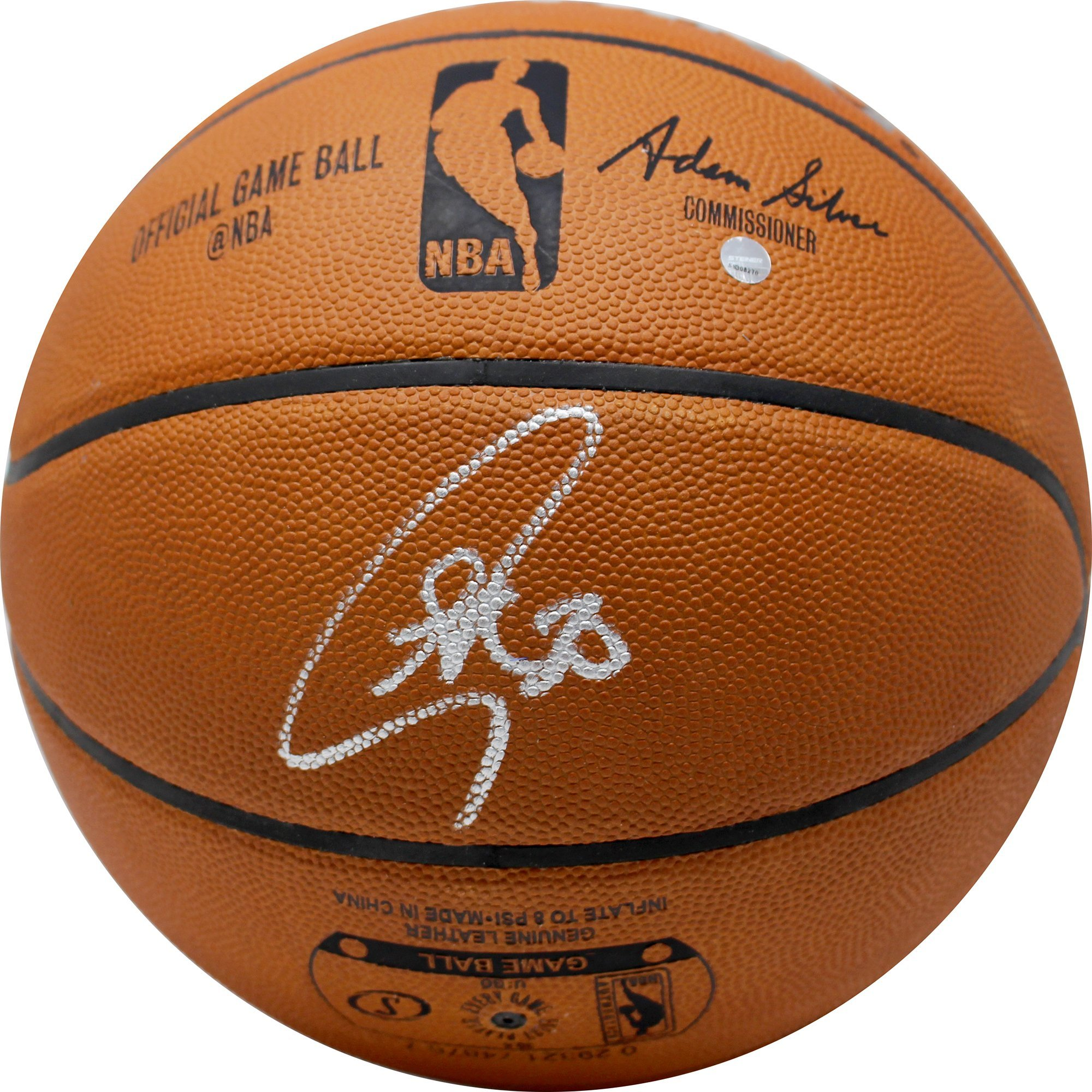 Authentic Spalding NBA Basketball (autographs will vary)