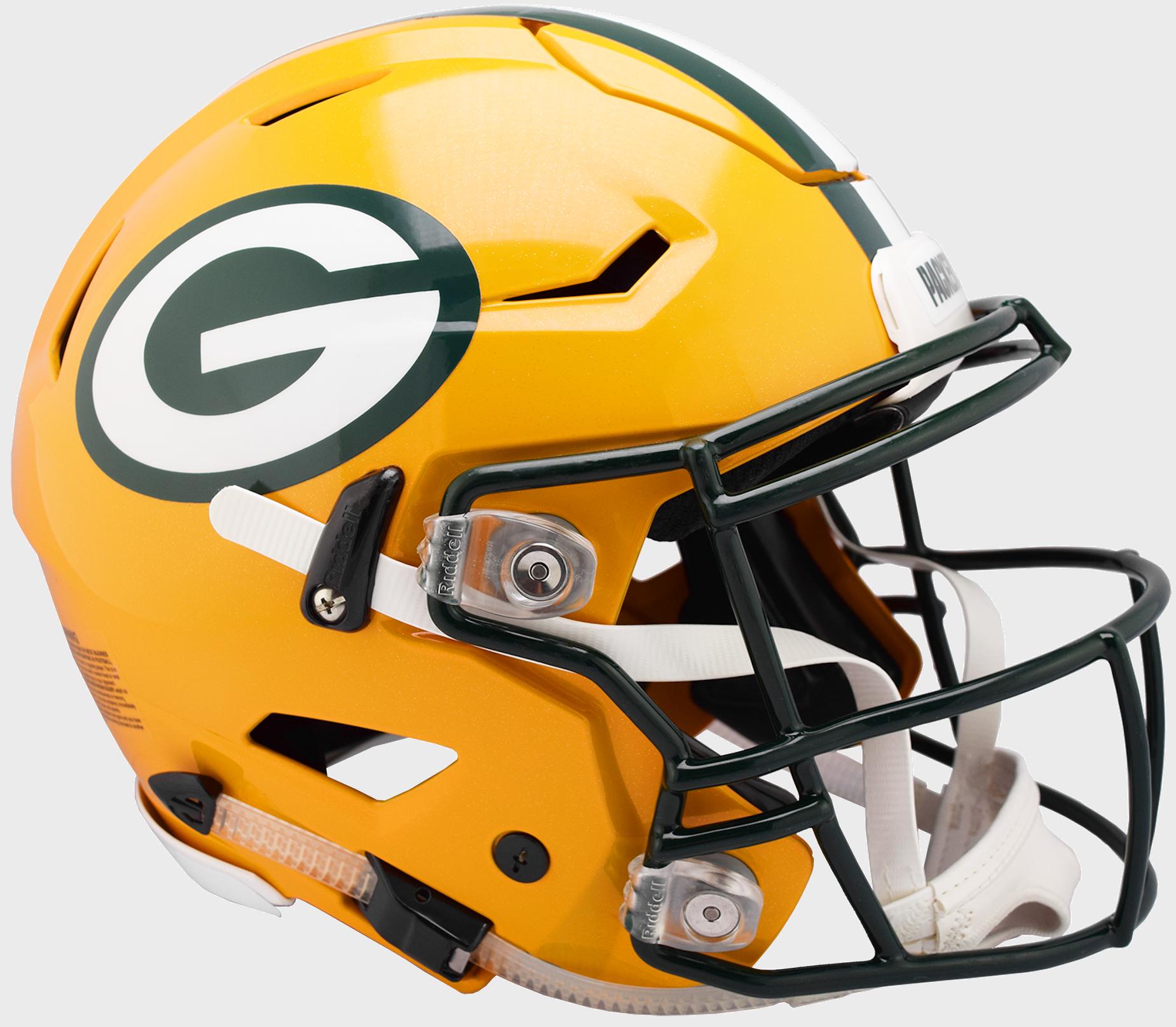 Packers Authentic Speed Flex Helmet